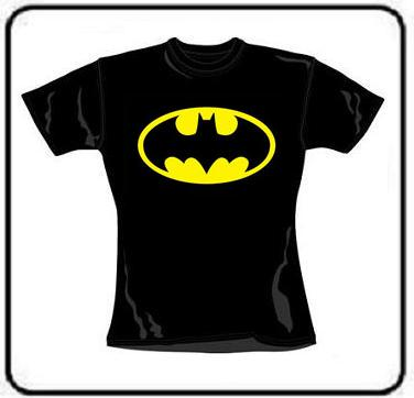 LOGO BATMAN GIRL T SHIRT