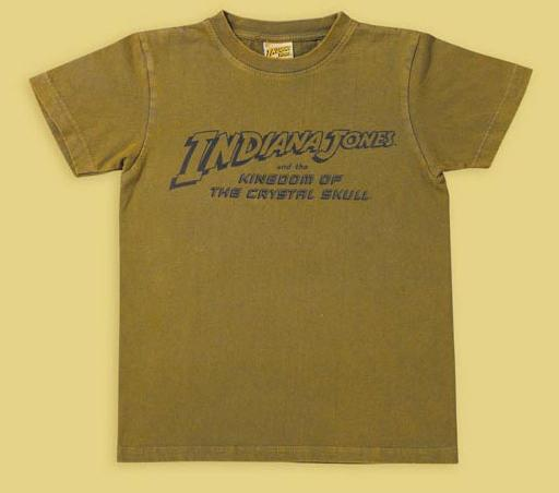 INDIANA JONES LOGO GREEN SHIRT