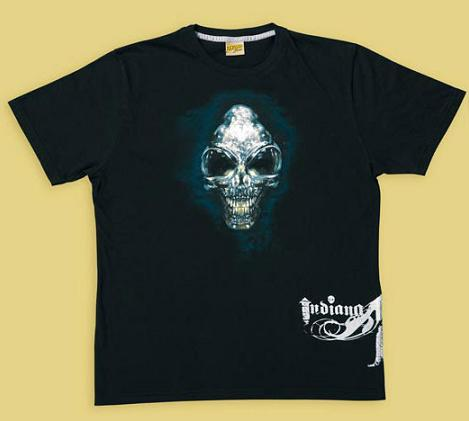 INDIANA JONES SKULL SHIRT