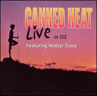 LIVE IN OZ - FEATURING WALTER TROUT (LIVE)