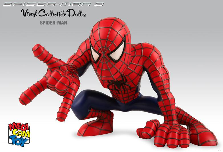 SPIDERMAN 3 SUPER DEFORMED VINYL FIGURE