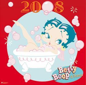 BETTY BOOP CALENDAR 2008