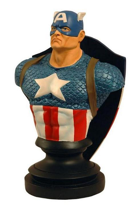 CAPTAIN AMERICA BUST EXCLUSIVE (MARVEL ICONS BUSTS SERIES)