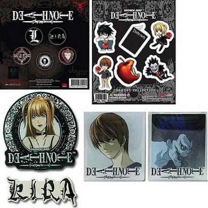 PACK MERCHANDISING DEATH NOTE