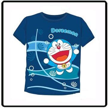 DORAEMON BLEU KID SHIRT