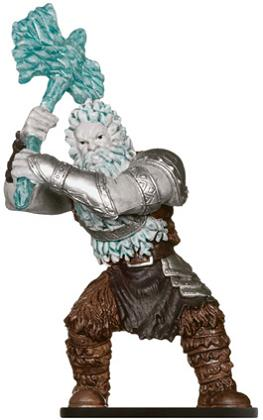 D&D MINI: FROST GIANT FIGURE (MONSTER MANUAL-DANGEROUS DELVES)