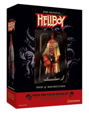N  1 HELLBOY FIGURE + COMIC