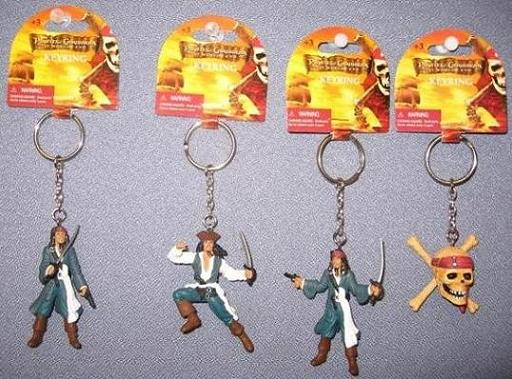 PACK 4 KEYCHAIN