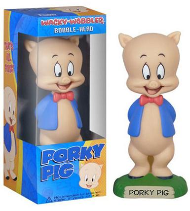 PORKY PIG FIGURE (BOBBLE HEAD)