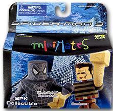 MINIMATES BLACK SPIDER-MAN & SANDMAN FIGURES (SERIE 17)