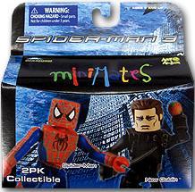 MINIMATES SPIDER-MAN & NEW GOBLIN FIGURES (SERIE 17)