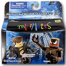 MINIMATES TRANSFORMATION SPIDERMAN & VENOM FIGURES (SERIE 18)