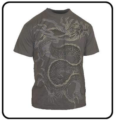 JAPANESE DRAGON T SHIRT (MIAMI INK)