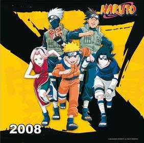 NARUTO CALENDAR 2008