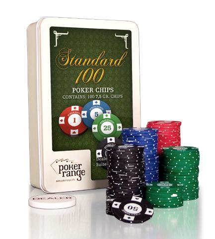 100 CHIPS STANDARD LINE BOX (7.5 GR.)