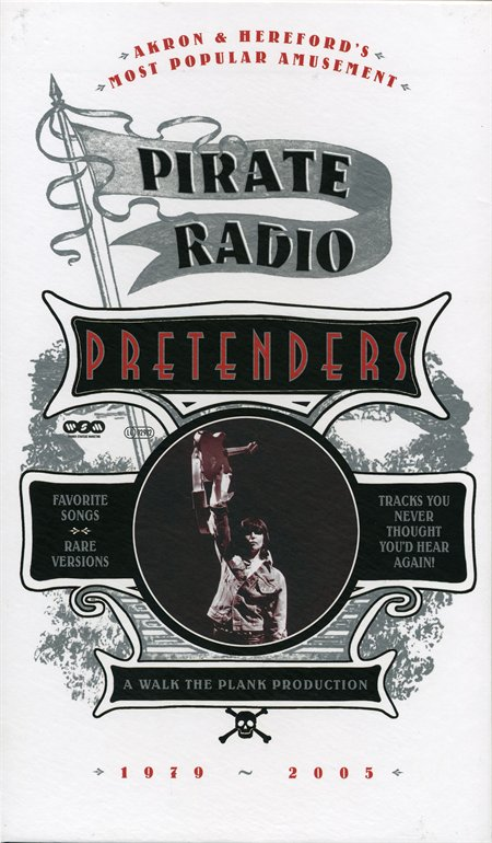 BOX PIRATE RADIO (1979-2005) 4CD+DVD