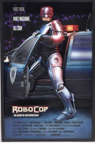 ROBOCOP 3D PLAQUE