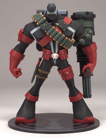 COMMANDO SPAWN FIGURE (SERIE 32) ADVENTURES OF SPAWN SERIE 2