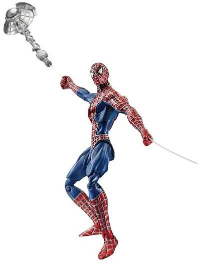 SPIDERMAN RETRACTABLE WEB FIGURE (WAVE 3) SPIDERMAN 3