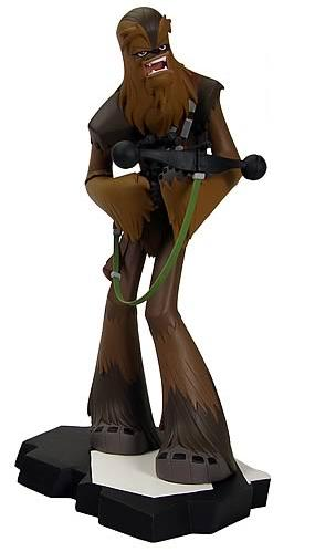 CHEWBACCA FIGURE ANIMATED MAQUETTE