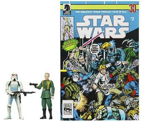 GOVERNOR TARKIN/STORMTROOPER FIGURES 2 (COMIC PACKS)