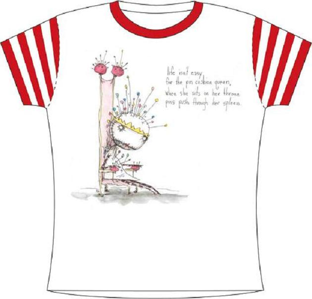 PINCUSHION QUEEN GIRL SHIRT