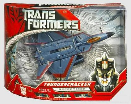 THUNDERCRACKER FIGURE (SERIE VOYAGER CLASS)
